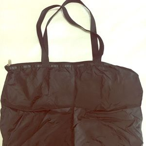 Authentic LeSportsac Black Tote Bag